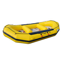 BRIS 1.2mm 12ft Inflatable White Water River Raft Inflatable Boat FloatingTubes image 2