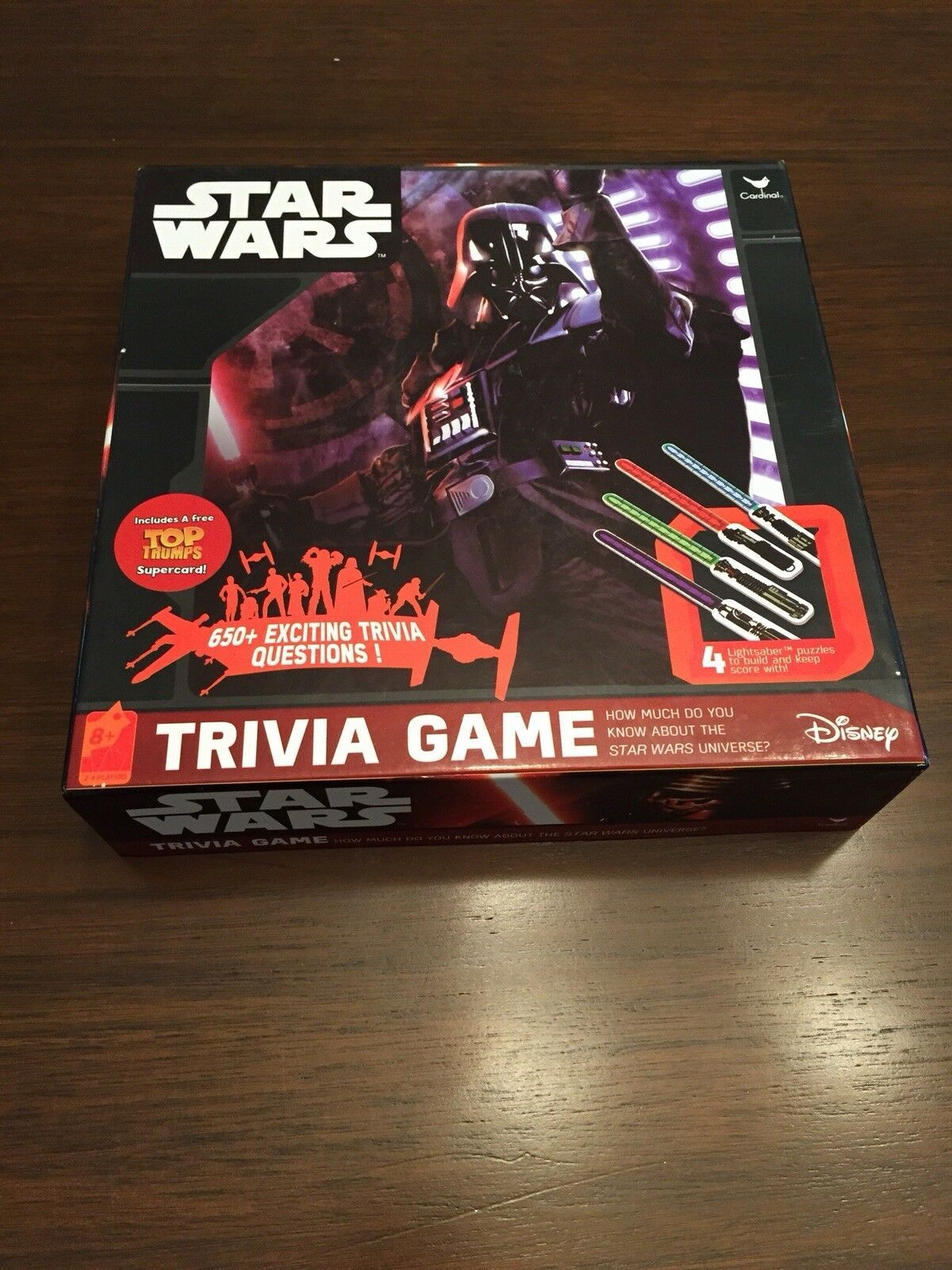 Star Wars Trivia Game Board Game Darth Vader Disney Pre-Owned Great Condition