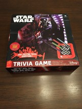 Star Wars Trivia Game Board Game Darth Vader Disney Pre-Owned Great Condition image 1