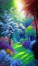 FOREST OF COLOUR   COLOURED CROSS STITCH KIT - $34.72