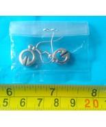 1 pair earrings Filipino Ifugao tribal Brass/si... - $16.34