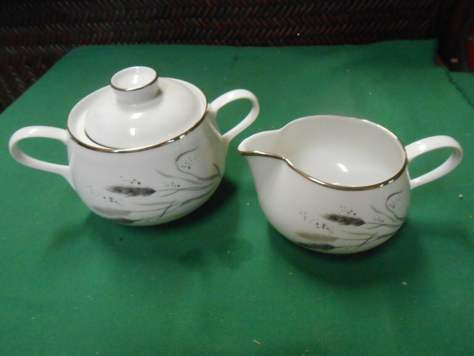 "Primary image for  ROSENTHAL Selb-Plossberg Bavaria Germany Ceres ""Wheat"" .SUGAR & CREAMER"