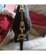 Zigi SOHO Mckenzie10 M zippered black suede w/tab & lock down at heel - $18.70