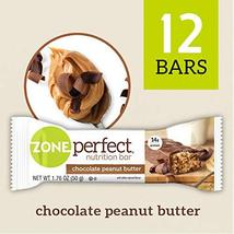ZonePerfect Nutrition Bars, Chocolate Peanut Butter, 1.76 oz, 12 Count - $23.73