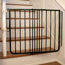 Baby Safety Gate Stairs Fence Pet Dog Metal Child Toddler Room Guard Adj... - $150.32
