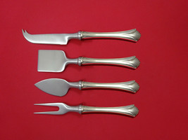 Regency Shell by Lunt Sterling Silver Cheese Serving Set 4pc HHWS  Custom - $264.20