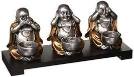 Koehlerhomedecor Sitting Buddha Candleholder - $22.20