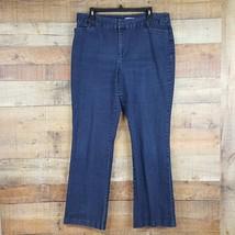 St. John's Bay Jeans Womens Size 16 Blue Denim UU8 - $15.83