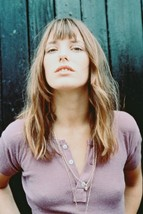 Jane Birkin Pouting Sexy Pose in Purple Top 1960s 18x24 Poster - $23.99