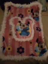 18 inch doll blanket and pillow. (Bed, doll and Minnie stuff toy not inc... - $5.93