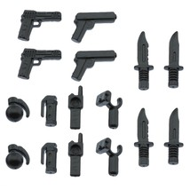 Custom Minifigures Military Army Guns Weapons Compatible w/ Lego Sets Mi... - $6.99