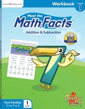 Meet the Math Addition & Subtraction Facts Level 1 Workbook - $5.99