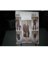 Butterick B6258 Cardigan, Top, Belt, Dress, Skirt & Pants Pattern - L-XXL - $7.91