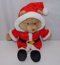 "Vintage Gund Santa Claus Teddy Bear 1993 15"" Stuffed Animal - $49.99"