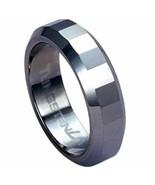 Diamond-cut Tungsten Carbide 6mm Ring Size 6 - $69.29