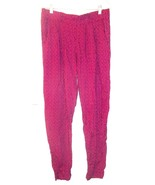 Sz L (11-13) - No Boundaries Pink Geometric Print Pleated Pants w/Front ... - $23.74