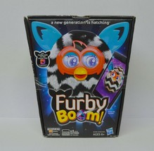 Furby Boom by Hasbro ZigZag Black White Strips New Retired - $136.80