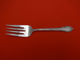 "Remembrance by 1847 Rogers Plate Silverplate Cold Meat Fork 8 3/4"" - $24.80"