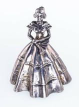 Vintage Danecraft Sterling Silver Southern Belle Brooch Nice Condition! - $54.45