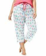 Charter Club Womens Plus Size Cotton Printed Pajama Pants Tulip - $31.88