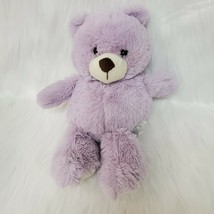 "11"" Animal Adventure Lavender Bear Soft Plush Lovey Stuffed Animal Toy B220 - $14.97"