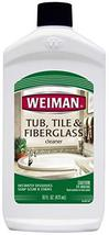 Weiman Bath Tub Cleaner - 16 Ounce - Fiberglass Cleaner for Bathrooms, Tile Tub  - $12.47