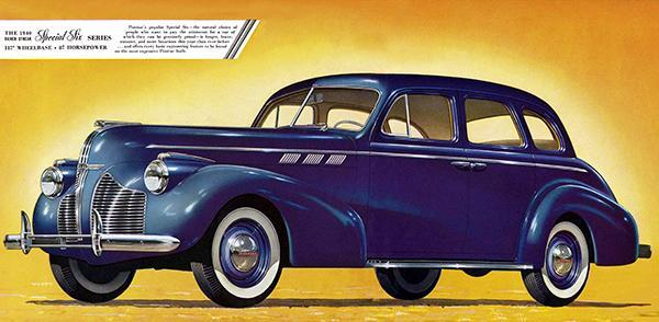 Primary image for 1940 Pontiac Four-Door Touring Sedan - Promotional Advertising Poster