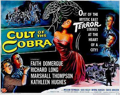 Primary image for Cult Of The Cobra - 1955 - Movie Poster