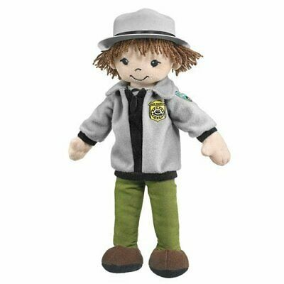 "Wildlife Artists Park Ranger Male Doll Plush Toy 11"" H"