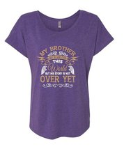My Brother May Be Gone From This World T Shirt, His Story Is Not Over Yet T Shir - $27.99+