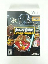Angry Birds Star Wars (Nintendo Wii, 2013) Video Game With Case - $12.38
