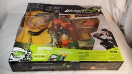 Tiger Lazer Tag Team Ops Complete 2-Player System Gift Set 2 Taggers Hud... - $42.49