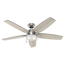 (PARTS ONLY) Hunter Antero Ceiling Fan, Brushed Nickel, Part# 59183 - $4.94+