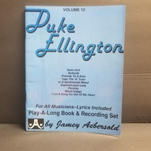 Duke Ellington 1978 Volume 12 58 Page Play-a-Long Book Music Book Only - $3.99