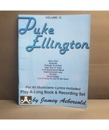 Duke Ellington 1978 Volume 12 58 Page Play-a-Long Book Music Book Only - $4.19