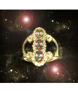 HAUNTED RING THE ANCIENT WIZARD'S BUILD MY KINGDOM AND COURT SECRET OOAK... - $9,107.77