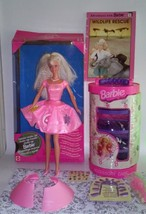Barbie Dolls Twirlin Make Up Case & Book Bundle - $34.99