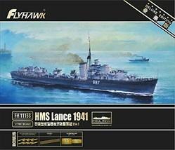 1/700 Royal Navy HMS L Class Destroyer Lance 1941 Plastic Model :245 - $102.42