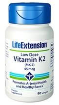 MULTIPACK Life Extension Low Dose Vitamin K2 MK-7 bone density heart - $32.00