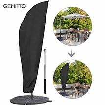 GEMITTO Umbrella Cover, Simply Shade Waterproof Patio Outdoor Umbrella C... - £10.63 GBP