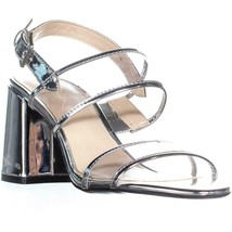 Nine West Gourdes Strappy Toe Ring Sandals, Clear Gray, 7 US - $36.57