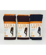 Blissful Benefits by Warner's Ultra Soft Fleece Lined Footless Tights - New - $16.99