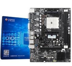 HUANAN ZHI A55 Motherboard For AMD FM1 A8 A6 A4 DDR3 16GB SATA2.0 USB2.0... - $105.23