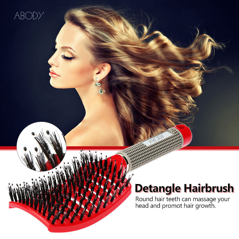 Professional Women Hair Brush Scalp Hairdressing Supplies Brushes For Tools Hair