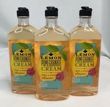 Bath and Body Works Lemon Pomegranate Cream 10oz Shower Gel Body Wash Lo... - $39.64