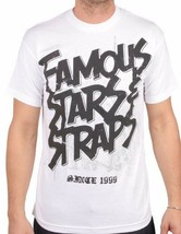 Célébres Stars & Bretelles Acier Blanc Fsas FMS Travis Barker Blink 182 Pull Nwt