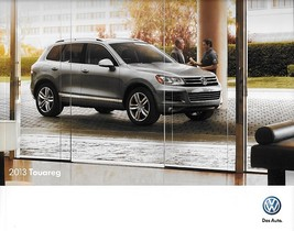 2013 Volkswagen TOUAREG brochure catalog US 13 V6 HYBRID TDI Lux Executi... - $9.00