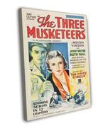 The Three Musketeers 1933 Vintage Movie FRAMED CANVAS Print 2 - $19.95
