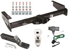 1995-2000 Chevrolet Tahoe Complete Trailer Hitch W/ Wiring Kit Ball & Mount - $275.96