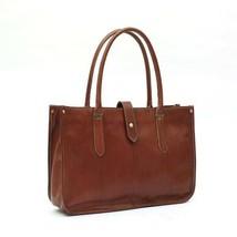 On Sale, Leather Tote Bag for Women, Shoulder Bag, Work & Student Bag, Shopper B image 1